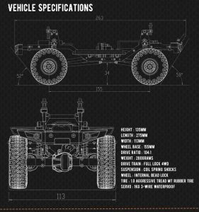 CR18 Specifications Sheet
