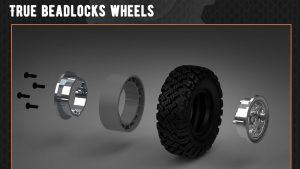 CR18 True Bead Lock Tires