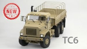 TC6 New Crawler Military Truck